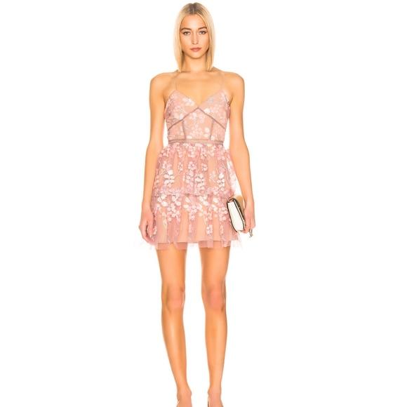 43661fed99 Self-Portrait Dresses | Self Portrait Floral Embellished Mini Dress ...
